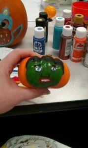 Frankenstein's Pumpkin!