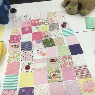 Scrap Quilt layout
